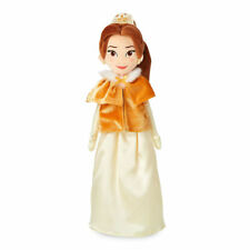 "Disney Store Beauty & the Beast Princess Belle Plush in Winter Cape 19"" New"