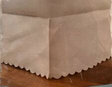 Vintage Chic Scalloped King Size Tailored Bedskirt Nip