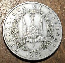 PIECE DE 100 FRANCS DJIBOUTI 1977 (102)