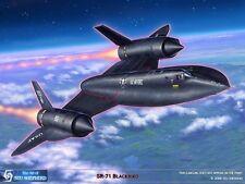 ART PRINT: SR-71 Blackbird - Print by Shepherd