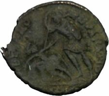 Constantius Gallus 351AD Rare Authentic   Ancient Roman Coin Battle Horse i45829