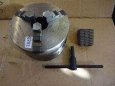 More details for harrison d14 pratt burnerd griptru 9250-01705 3 jaw chuck + external jaws + key