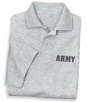 US United States Army Military Polo Golf Shirt SM To 5XL