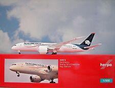 Herpa Wings 1:500 Boeing 787-8 AEROMEXICO n961am 529815 modellairport 500