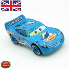 Original Dinoco Diecast Disney Pixar World of Cars1 Blue Lightning McQueen Car