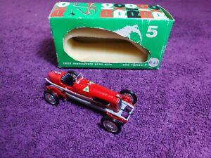 RIO 1932 Alfa Romeo P3 Monoposto Gran Prix 1/43 Vintage Diecast Model (No. 5)