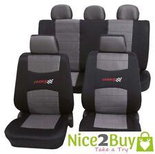Auto Sitzschoner Sitzbezüge Polyester Komfort Streifen für Mazda KIA Mercedes