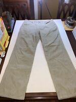 QUALITY Patagonia Organic Cotton Men's Casual Pants Size 34 x 30 Tan Cords