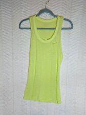 Calvin Klein tank top green Small sleeveless racerback