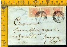Antichi Stati Lombardo Veneto X 807 filigrana Mirano