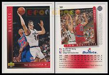 NBA UPPER DECK 1993/94 - Tom Gugliotta # 161 - Bullets - Ita/Eng - MINT