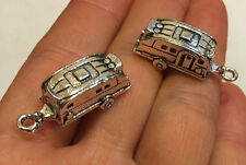 5 pieces CAMPER RV Camping Trailer Motor Home CHARMS - Adorable! Great Gift!