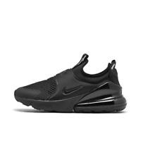 Big Kids' Nike Air Max 270 Extreme Casual Shoes Black/Black/Black CI1108 005