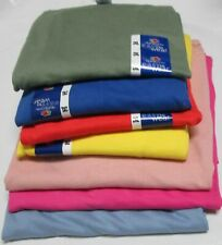 Men's Women T-Shirts 2XL Fruit of The Loom 7 Pc 7 colors 100 % Cotton 50/50