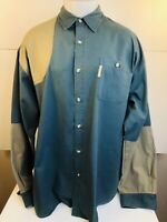 COLUMBIA - Padded Shoulder Hunting / Shooting Mens XL Shirt