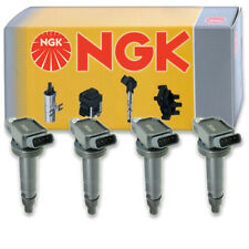 4 pcs NGK Ignition Coil for 2007-2011 Toyota Camry 2.4L L4 - Spark Plug Tune kb