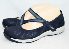 DANSKO Haven Mesh & Suede Mary Jane Sneaker Flats Wo's 7.5-8 Eur 38 Navy Blue
