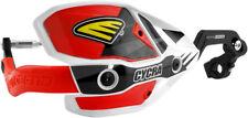 Cycra Ultra Probend CRM Wrap Around Handguards White/Red 7/8 Handlebars