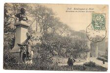 boulogne-sur-mer  monument du docteur duchenne
