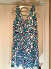Lilly Pulitzer Seafoam Green Montauk Shianne Dress XL