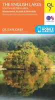 Explorer map OL7 English Lakes South East  Area