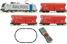 Fleischmann 931888 Güterzug Railpool Db/ag DCC