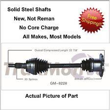 2007-2013 CHEVROLET SILVERADO 1500 4X4  CV Axle Shaft-New Front-Left/Right