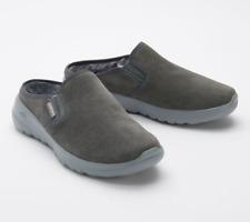 Skechers GOWalk Joy Water-Repellant Suede Clogs