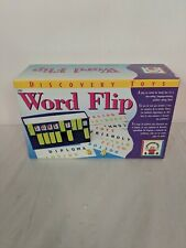 Discovery Toys Word Flip Language Learning Game. Brand New Sealed Game.