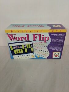 Discovery Toys Word Flip Language Learning Game Brand New Sealed Game