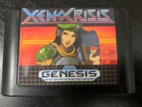 Xeno Crisis Homebrew Re-pro Sega Genesis Video Game Cartridge XenoCrisis