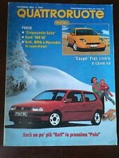 Quattroruote n 458 dicembre 1993 - Porsche 911 Carrera, Rover 620, Fiat Coupè