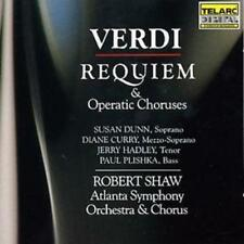 Robert Shaw : Requiem, Operatic Choruses (Shaw, Atlanta So) CD (2004) ***NEW***
