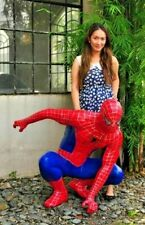 SPIDER-MAN STATUE LIFE SIZE Finet XM  fan art CUSTOM spiderman