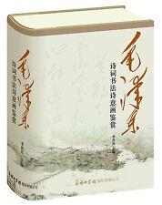 毛泽东诗词书法诗意画鉴赏 Appreciation of Mao Zedong's poems and paintings - chinese