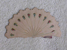 1880s Die Cut Spanish Fan Victorian Trade Card/Mexican Curiosities For Sale