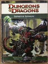 Dungeons & Dragons Monster Manual 4th Edition - Free Shipping!