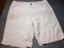 Merona Bermuda Shorts 16 Striped Euc Very Nice Summer
