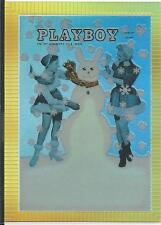 Playboy Chromium Cover Cards Edition 3 Illustrated Card refractor # R202