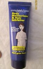 NEW-Completely Bare-Don't Grow There-Body Moisturizer & Hair Inhibitor-1.7oz