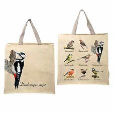 Fallen Fruits Nature Reusable Shopping Bag Bird Collection