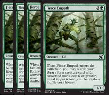 Fierce Empath NM X4 Duel Decks: Elves Vs Inventors Green Common