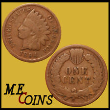 1894 Indian Head Cent Penny , Circulated , US Coin