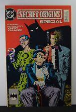 Secret Origins Special #1 (DC, 1989) Featuring Gotham City's Vilest Villains!