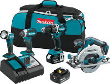 Makita XT446T 18V LXT® Lithium‑Ion Brushless Cordless 4‑Pc. Combo Kit (5.0Ah)