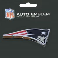New England Patriots Heavy Duty Metal 3-D Color Auto Emblem