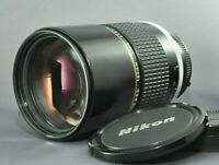 NEAR MINT Nikon Nikkor ai-s 180mm f/2.8 ED Telephoto MF Lens from JAPAN DHL Caps