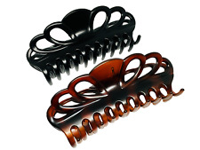 Hair Clips for Women Large Strong Jumbo Clip Claw for Thick Hairs * Pack of 2 *