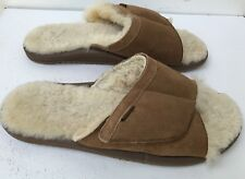 20945f1a0a3fed Moszkito Mens Costal Fuzzy Brown Sandals SZ 12 HARD TO FIND!