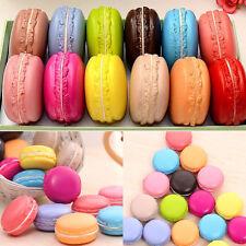 1pc Jumbo Squishy Dessert Macaron Charms Buns Cell Phone Bag Pendant Strap Charm